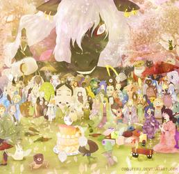 Happy Birthday, Nyanko! by oboeteru