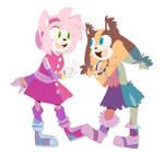 Best Friends! by Sonikku-Star