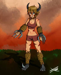 Fraya The Beast . by Quote-J