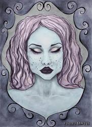 Snow- White-edhelmoth by EdhelMoth