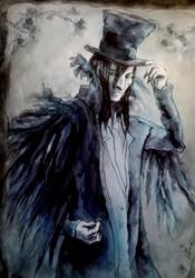 Mr. Raven by EdhelMoth