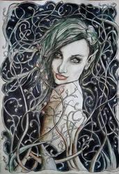 Poison Ivy by EdhelMoth