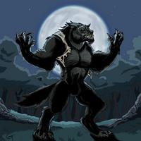Griff Werewolf by Sketch-Beast
