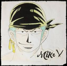 [FanArt] Roronoa-Zoro by MikeVxV