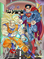 Son Goku X Superman by RodTsumura