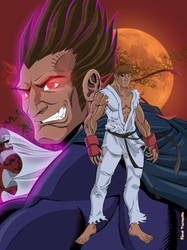 Ryu Vs Demitri by Rod Tsumura Udon Colors Final by RodTsumura