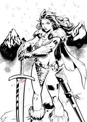 Red Sonja by Chahine by RodTsumura