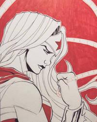 Wonder Woman Sketch by RodTsumura