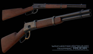 Winchester Trapper 3d by RonnieRiddik
