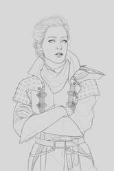 Inquisitor Evelyn Trevelyan by hellenys