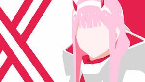 Zero Two - Darling in the franxx minimalist by Yuki-Neh
