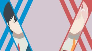Hiro and Zero Two - Darling in the FranXX by Yuki-Neh