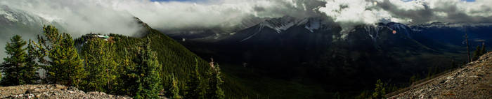 Sulphur Mountain HDR pano by KRHPhotography