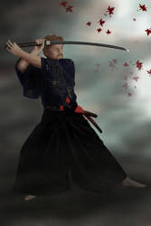 Samurai At The End by sedART