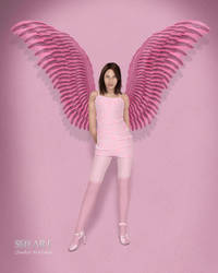 Pink Wings by sedART