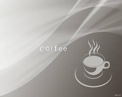 Coffee Cup Wallpaper by sedART