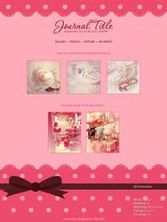 Cute Journal skin by sara-hel