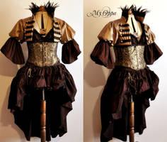 Custom order My Oppa dress red by myoppa-creation