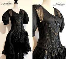 Fashion Show steampunk burlesque by myoppa-creation