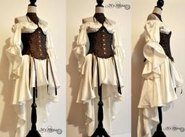 Custom order My Oppa costume warrior by myoppa-creation