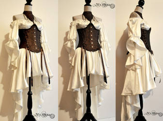 Custom order My Oppa costume warrior by myoppa-creation
