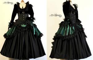Dress costume custom order by myoppa-creation