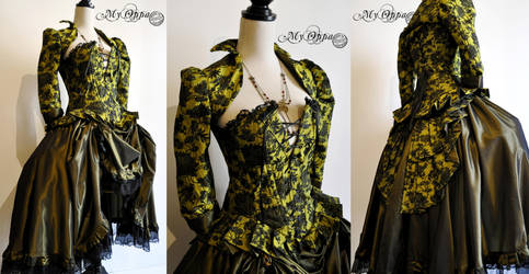 Steampunk mori green by myoppa-creation