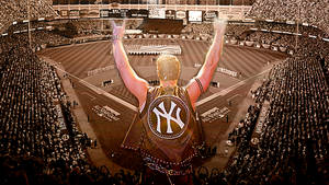 Mark Teixeira I Wanna Rock Yankees Wallpaper by Louie82Y