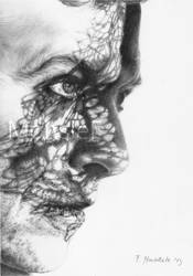 David Bowie by MonsieF