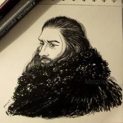Benjen Stark by MonsieF