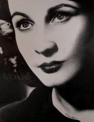 Vivien Leigh by MonsieF
