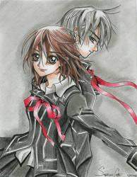 Vampire Knight by animeartist67