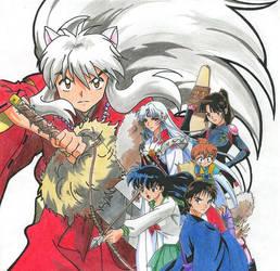 Inuyasha by animeartist67