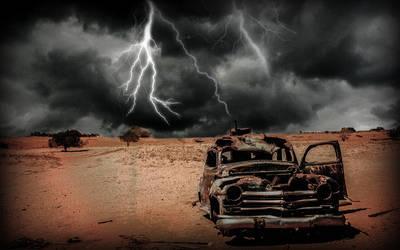 Dsert -thunderstorm by reminiscence125