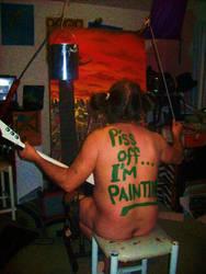 im painting by dingodizmal