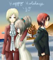 Happy Holidays 2010 by nikkibuu