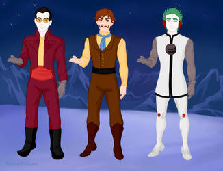 The Guys of Superjail! by SuperGemStar