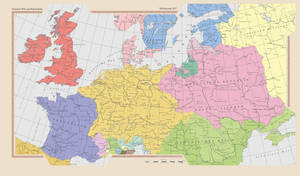 Europe and the HRR after the 30 Years war. by GutKnut4703