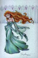 Blue Elf Queen by MommySpike