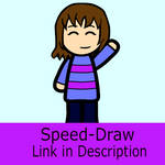 Frisk Model Speed-Draw by TurtleArmyJess