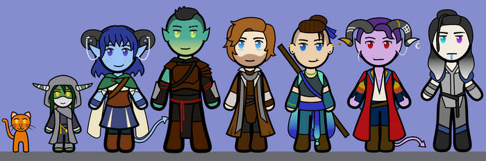 Critical Role Full Cast by TurtleArmyJess