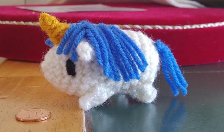 Jester's Hamster-Unicorn by TurtleArmyJess