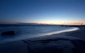 Evening Waves by Smattila