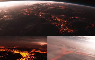 Dante01 - Procedural planet by Smattila