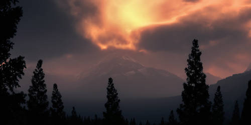 Misty mountains by Smattila