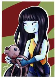 Marceline and Hambo by vanedix3