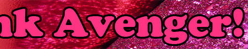 Pink Avenger Sparkle Banner by shmaysh