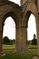 Glastonbury Abbey 11 by FoxStox