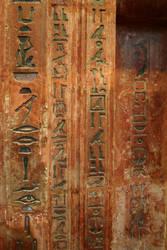 Egyptian Hieroglyphs 4 by FoxStox