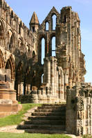 Whitby Abbey Ruins 4 by FoxStox
